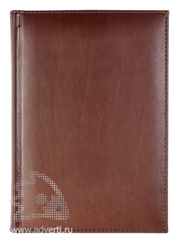 Ежедневники «Nappa», коричневые