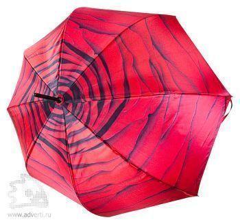 Зонт-трость «Роза», полуавтомат