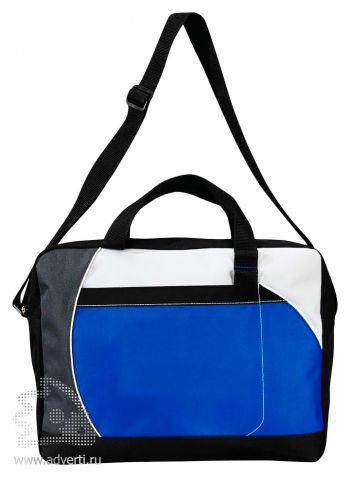 Конференц-сумка «Atchison Curve», синяя