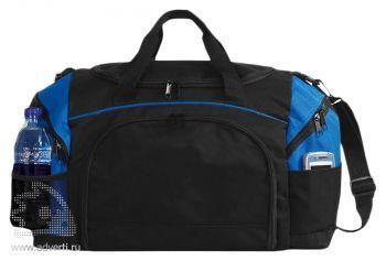Спортивная сумка «Atchison Essential»,черная с синим