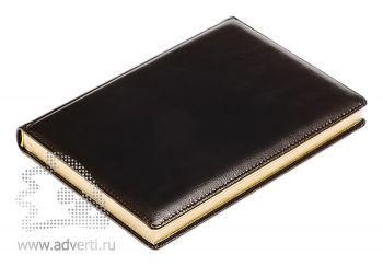 Ежедневники и еженедельники «Malaga», черные, золотой обрез