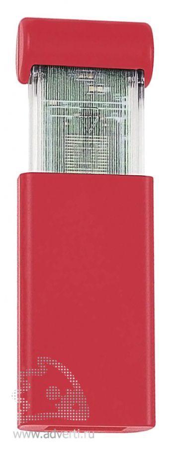 USB флеш карта «Click», красная