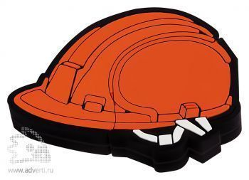 Флешка «Каска», оранжевая