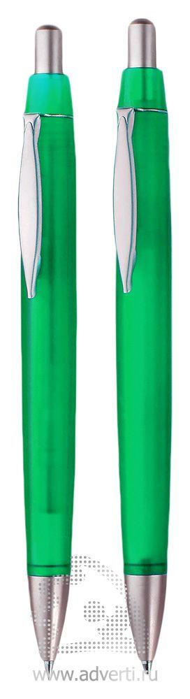 Шариковая ручка и автокарандаш из набора «Танго», зеленые