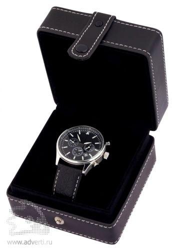 Часы-хронометр наручные мужские кварцевые «Mercury», упаковка