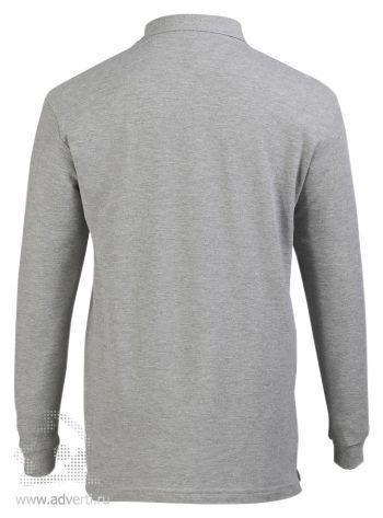 Рубашка поло с длинным рукавом  «Star 170», мужская, спина