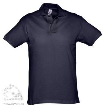 Рубашка поло «Spirit 240», мужская, темно-синяя
