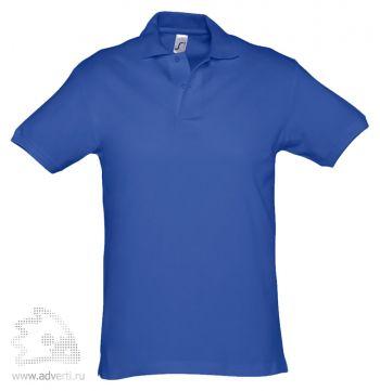 Рубашка поло «Spirit 240», мужская, синяя