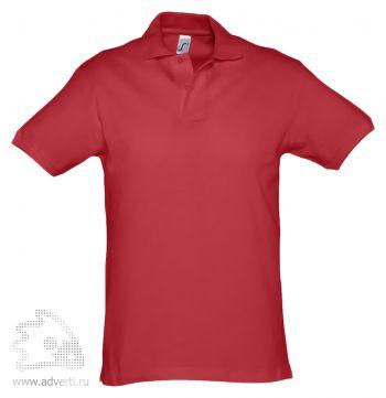 Рубашка поло «Spirit 240», мужская, красная
