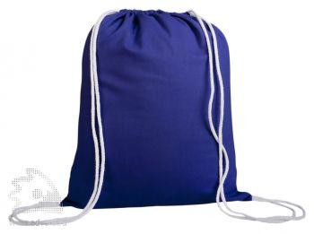 Промо-рюкзак «Canvas» из натуральной ткани, синий