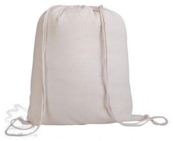 Промо-рюкзак «Canvas» из натуральной ткани, неокрашенный