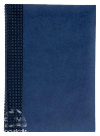 Ежедневники «Velvet», синие