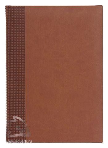 Ежедневники «Velvet», светло-коричневые