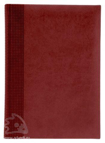 Ежедневники «Velvet», красные