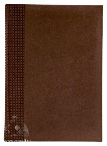 Ежедневники «Velvet», коричневые