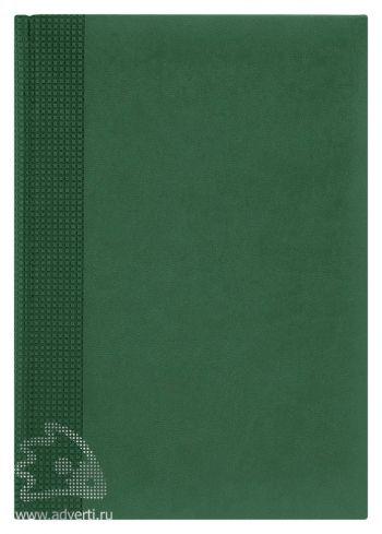 Ежедневники «Velvet», зеленые