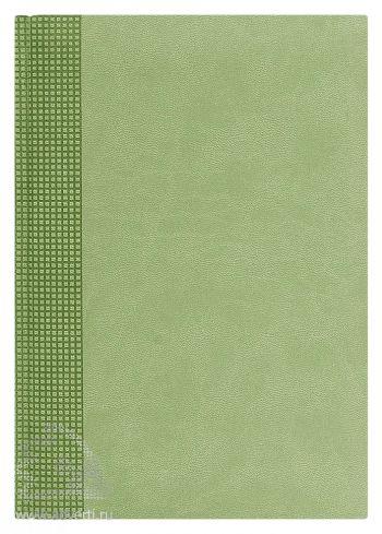 Ежедневники «Velvet», светло-зеленые