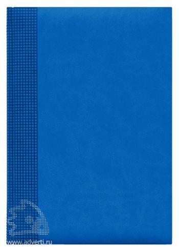 Ежедневники «Velvet», светло-синие