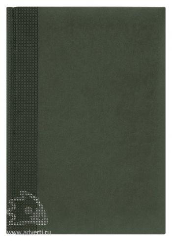 Ежедневники «Velvet», темно-зеленые