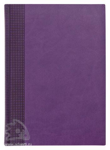 Ежедневники «Velvet», фиолетовые