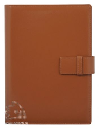 Ежедневник-портфолио «Sofiano», коричневый