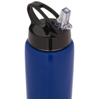 Спортивная бутылка «Moist», синяя, носик