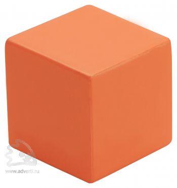 Антистресс «Кубик», оранжевый