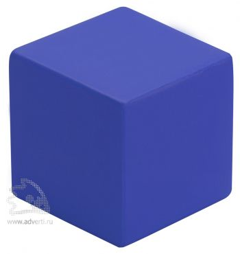 Антистресс «Кубик», синий