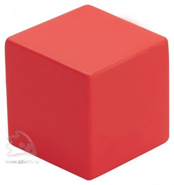 Антистресс «Кубик», красный