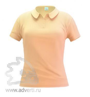 Рубашка поло «Stan Women», женская, бежевая