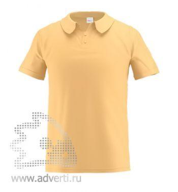 Рубашка поло «Stan Primier», мужская, бежевая