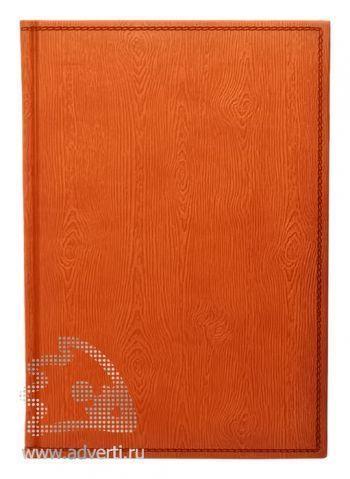 Ежедневники «Wood», оранжевые
