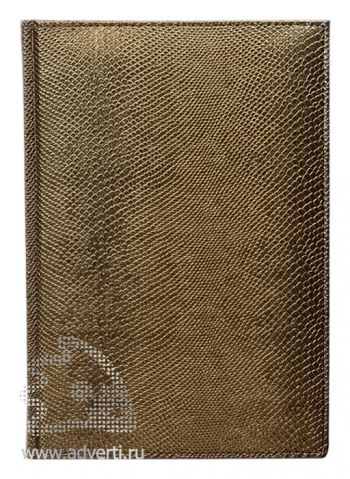 Ежедневники  «Pitone», коричневые