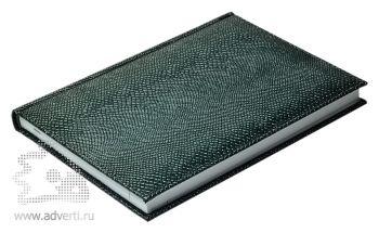 Ежедневники  «Pitone», зеленые, вид сбоку