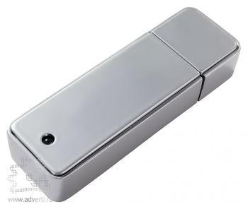 USB-зажигалка, вид с зади