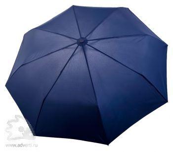 Зонт «Unit Comfort», полуавтомат, 3 сложения, синий