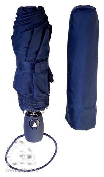 Зонт «Unit Comfort», полуавтомат, 3 сложения, дизайн чехла