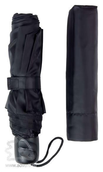 Зонт «Unit Basic», механический, 3 сложения, общий дизайн