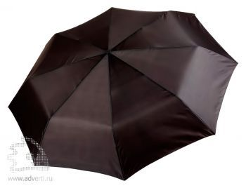 Зонт «Unit Basic», механический, 3 сложения, черный