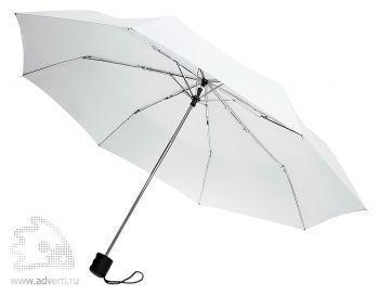Зонт «Unit Basic», механический, 3 сложения, белый