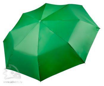 Зонт «Unit Basic», механический, 3 сложения, зеленый