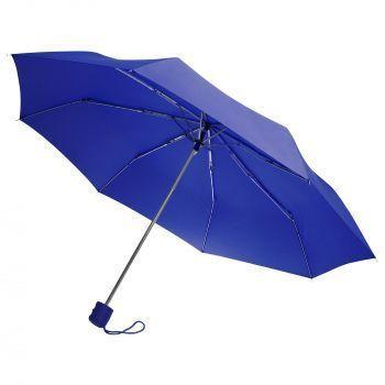 Зонт «Unit Basic», механический, 3 сложения, синий