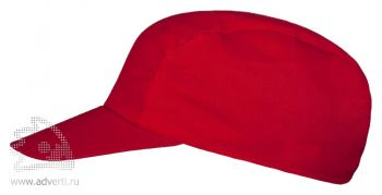 Бейсболка «Unit Easy», красная