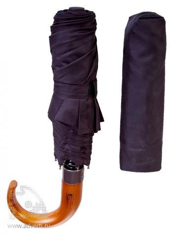 Зонт «Classic», автомат, 3 сложения, дизайн чехла