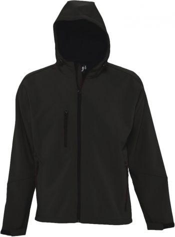 Куртка с капюшоном «Replay Men 340», мужская, черная