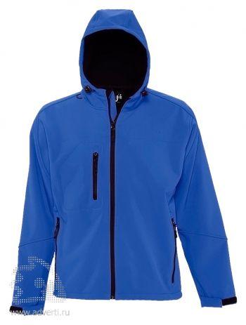 Куртка с капюшоном «Replay Men 340», мужская, синяя