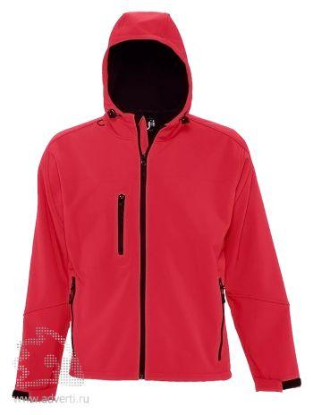 Куртка с капюшоном «Replay Men 340», мужская, красная