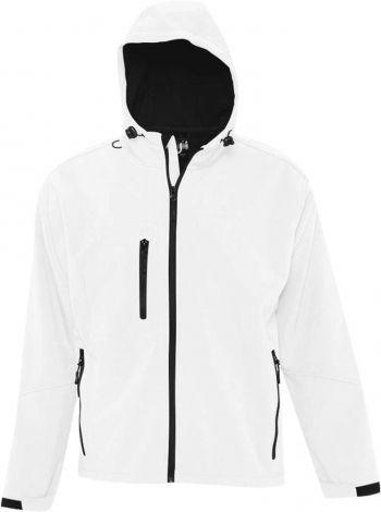 Куртка с капюшоном «Replay Men 340», мужская, белая