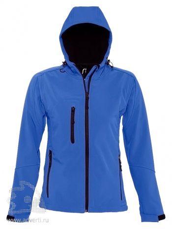 Куртка с капюшоном «Replay Women 340», женская, синяя