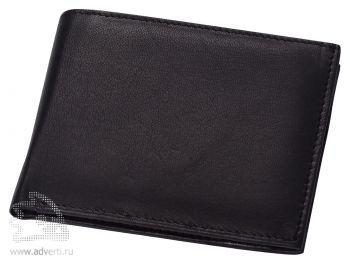Складное портмоне Grand Cuero «Аполлон», черное